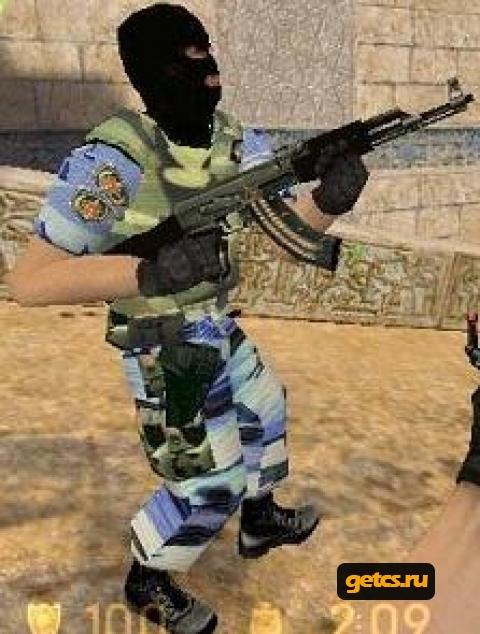 Скачать CS 1.6 Русский Спецназ для css - Counter Strike для css.